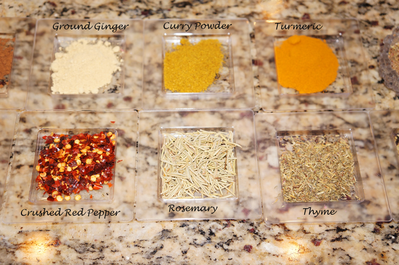Image of dried spices and herbs | Bazilian