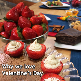 Image about Citrus-ricotta stuffed strawberries dipped in chocolate | Bazilian