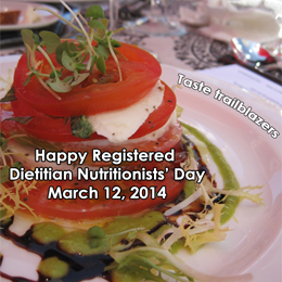 Image about Registered Dietitian Nutritionists' Day Taste Trailblazers | Bazilians